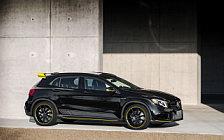 Обои автомобили Mercedes-AMG GLA 45 4MATIC Yellow Night Edition - 2017