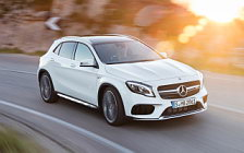Обои автомобили Mercedes-AMG GLA 45 4MATIC - 2017