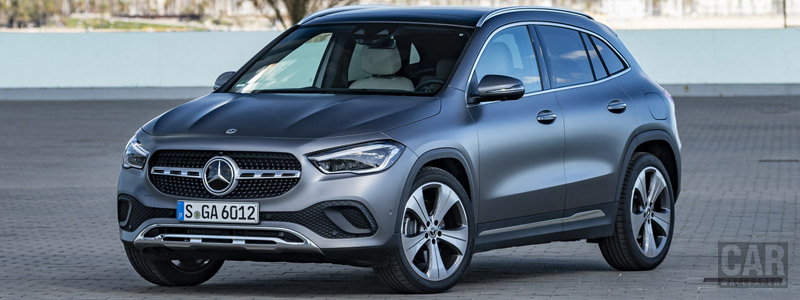 Обои автомобили Mercedes-Benz GLA 220 d 4MATIC Progressive Line - 2020 - Car wallpapers