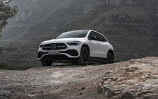 Обои автомобили Mercedes-Benz GLA 250 4MATIC AMG Line - 2020