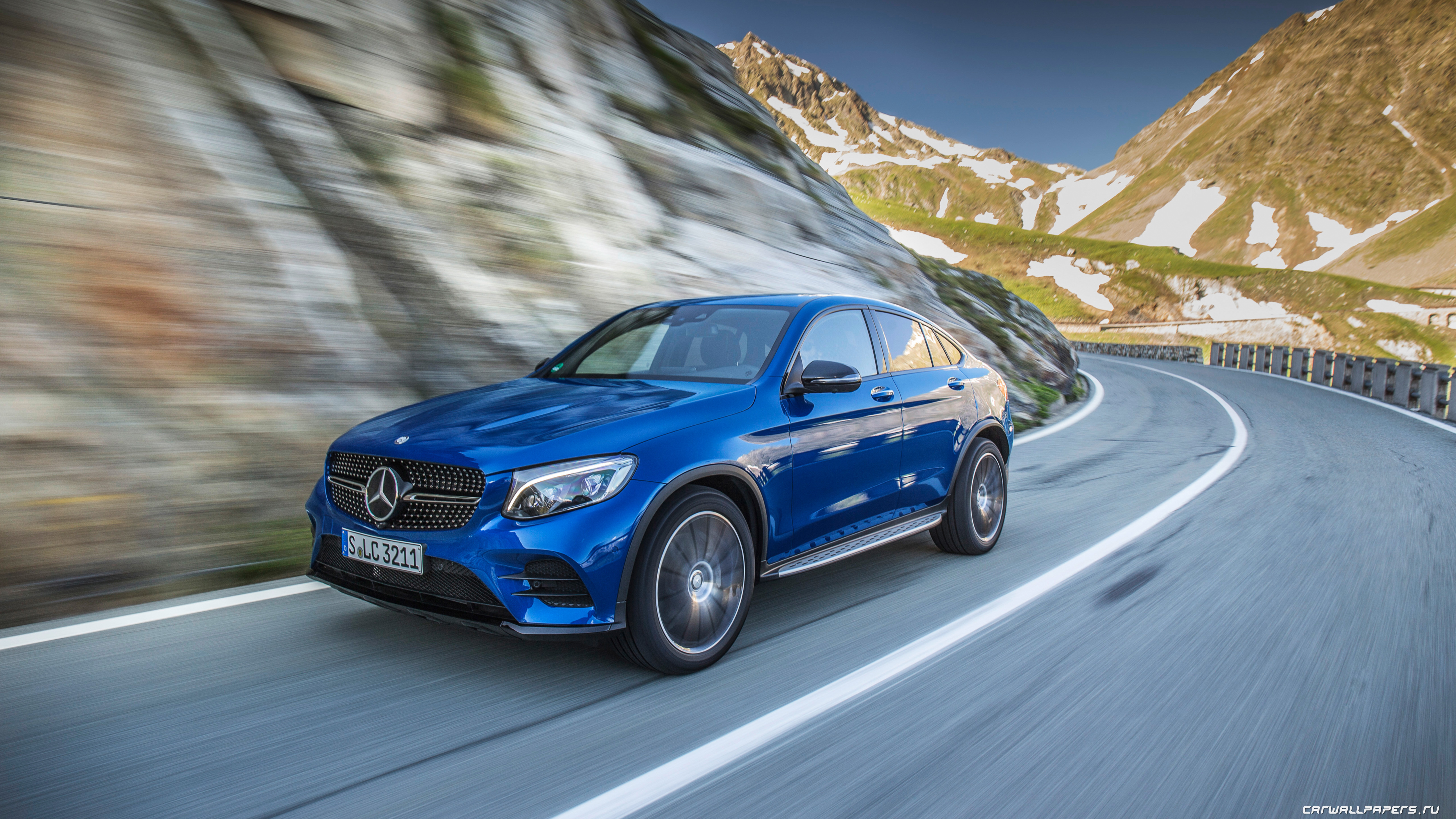 Mercedes Benz Glc Coupe Concept 2 Wallpapers Wallpaper Download Free
