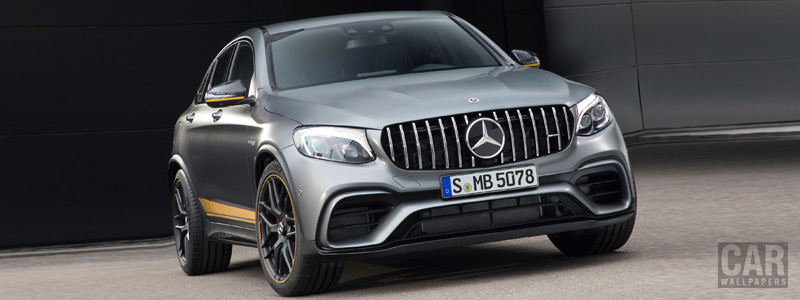 Обои автомобили Mercedes-AMG GLC 63 S 4MATIC+ Coupe Edition 1 - 2017 - Car wallpapers