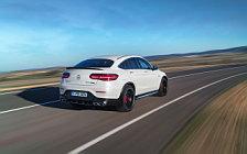 Обои автомобили Mercedes-AMG GLC 63 S 4MATIC+ Coupe - 2017