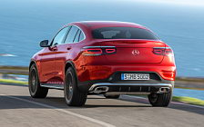 Обои автомобили Mercedes-Benz GLC 300 4MATIC Coupe AMG Line - 2019