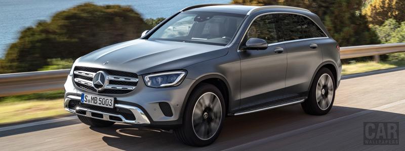 Обои автомобили Mercedes-Benz GLC 300 4MATIC - 2019 - Car wallpapers