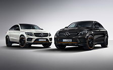 Обои автомобили Mercedes-Benz GLE 350 d 4MATIC Coupe OrangeArt Edition - 2017