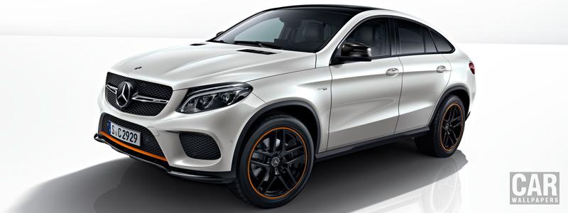Обои автомобили Mercedes-AMG GLE 43 4MATIC Coupe OrangeArt Edition - 2017 - Car wallpapers