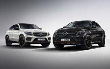 Обои автомобили Mercedes-AMG GLE 43 4MATIC Coupe OrangeArt Edition - 2017