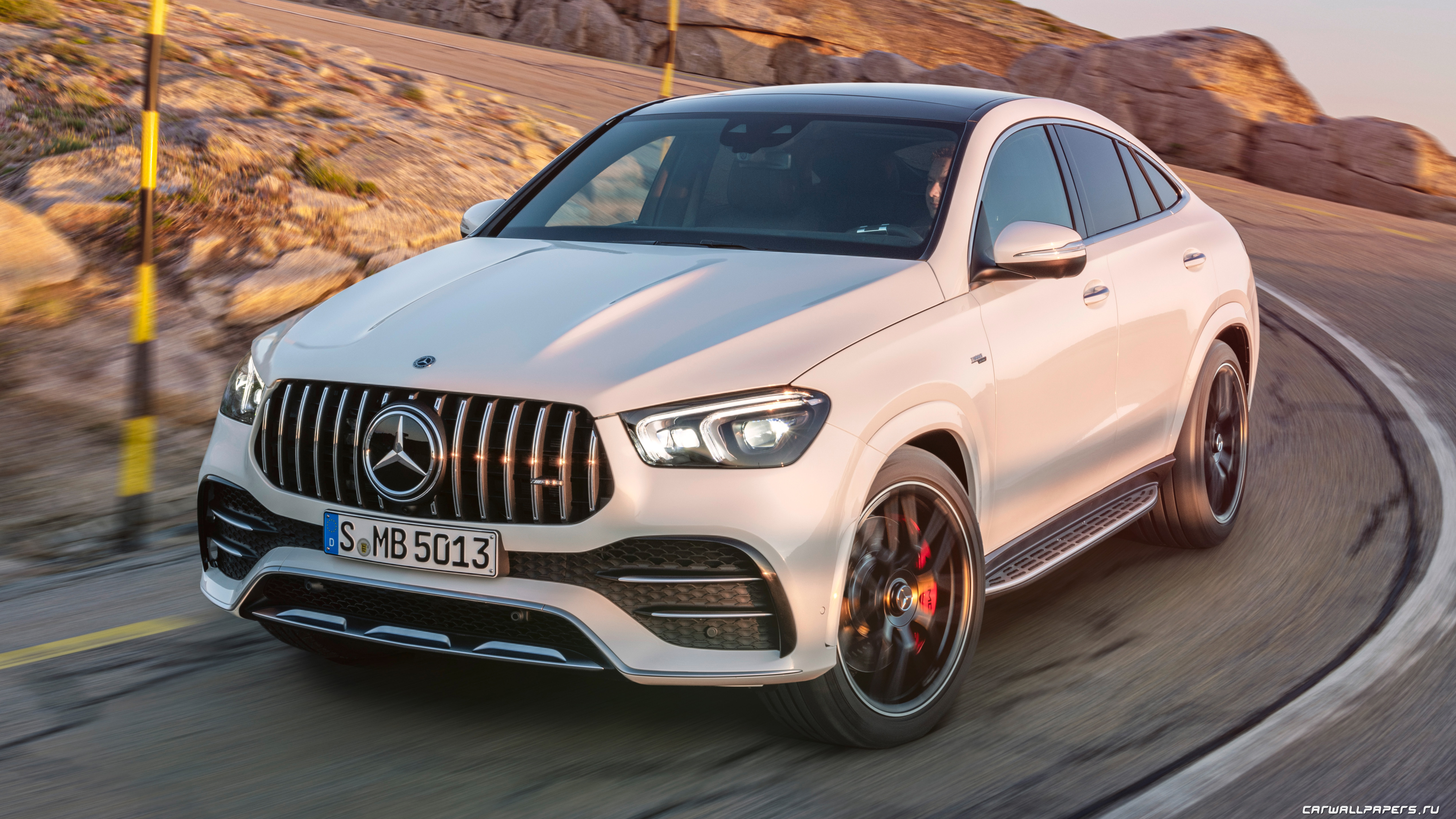 Oboi Na Rabochij Stol Avtomobili Mercedes Amg Gle 53 4matic Coupe 2019