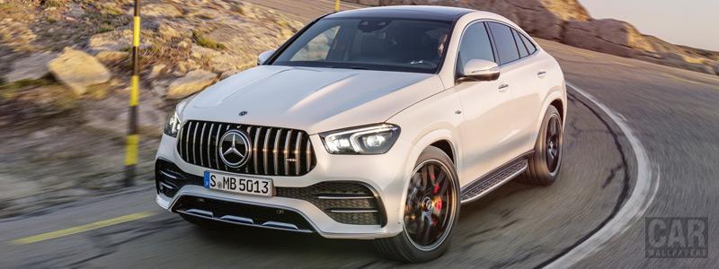 Обои автомобили Mercedes-AMG GLE 53 4MATIC+ Coupe - 2019 - Car wallpapers