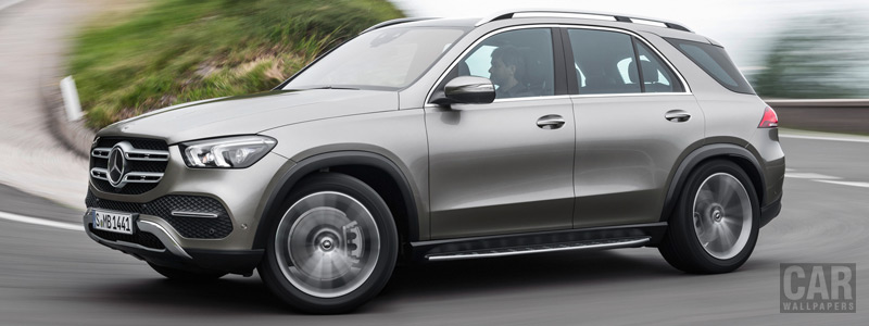 Обои автомобили Mercedes-Benz GLE 450 4MATIC - 2019 - Car wallpapers