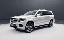 Обои автомобили Mercedes-Benz GLS 500 4MATIC Grand Edition - 2017