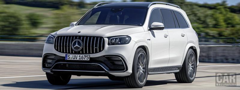 Обои автомобили Mercedes-AMG GLS 63 4MATIC+ - 2020 - Car wallpapers