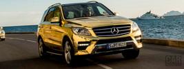Mercedes-Benz M-class Festival de Cannes - 2012