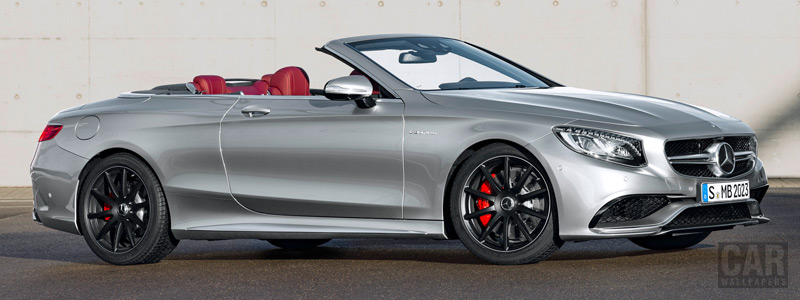 Обои автомобили Mercedes-AMG S 63 4MATIC Cabriolet Edition 130 - 2016 - Car wallpapers