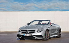 Обои автомобили Mercedes-AMG S 63 4MATIC Cabriolet Edition 130 - 2016
