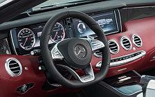 Обои автомобили Mercedes-AMG S 63 4MATIC Cabriolet Edition 130 - 2016