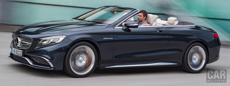 Обои автомобили Mercedes-AMG S 65 Cabriolet - 2016 - Car wallpapers