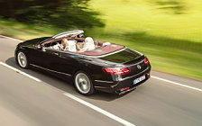 Обои автомобили Mercedes-Benz S 560 Cabriolet - 2017