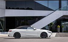 Обои автомобили Mercedes-AMG S 63 4MATIC+ Cabriolet - 2017