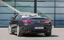 Обои автомобили Mercedes-AMG S 65 Cabriolet - 2017