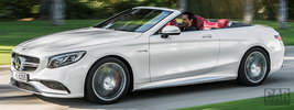 Mercedes-AMG S 63 4MATIC Cabriolet - 2015