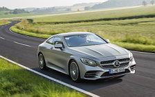 Обои автомобили Mercedes-Benz S 560 Coupe AMG Line - 2017