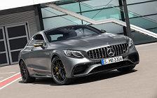 Обои автомобили Mercedes-AMG S 63 4MATIC+ Coupe Yellow Night Edition - 2017