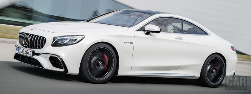 Обои автомобили Mercedes-AMG S 63 4MATIC+ Coupe - 2017 - Car wallpapers