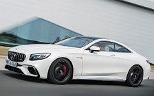 Обои автомобили Mercedes-AMG S 63 4MATIC+ Coupe - 2017