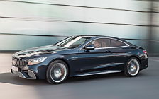 Обои автомобили Mercedes-AMG S 65 Coupe - 2017