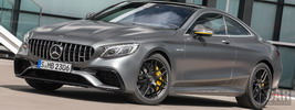 Mercedes-AMG S 63 4MATIC+ Coupe Yellow Night Edition - 2017