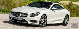 Mercedes-Benz S500 Coupe 4MATIC AMG Sports Package - 2014