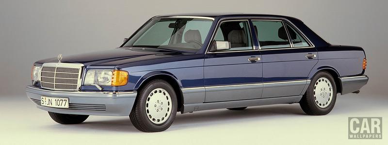 Обои автомобили Mercedes-Benz 560SEL w126 - 1985-1991 - Car wallpapers