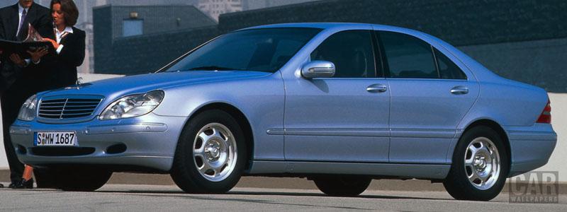 Обои автомобили Mercedes-Benz S320 W220 - 1998 - Car wallpapers