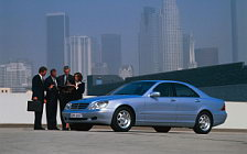 Обои автомобили Mercedes-Benz S320 W220 - 1998