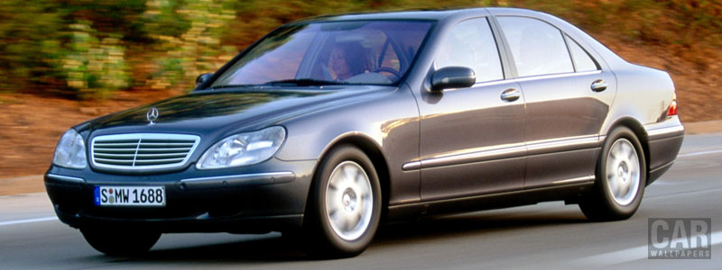 Обои автомобили Mercedes-Benz S430 L W220 - 1998 - Car wallpapers