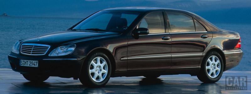Обои автомобили Mercedes-Benz S500 L W220 - 1998 - Car wallpapers