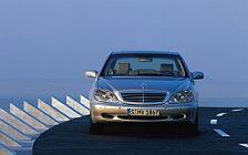 Обои автомобили Mercedes-Benz S500 L W220 - 1998