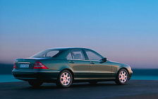 Обои автомобили Mercedes-Benz S500 W220 - 1998