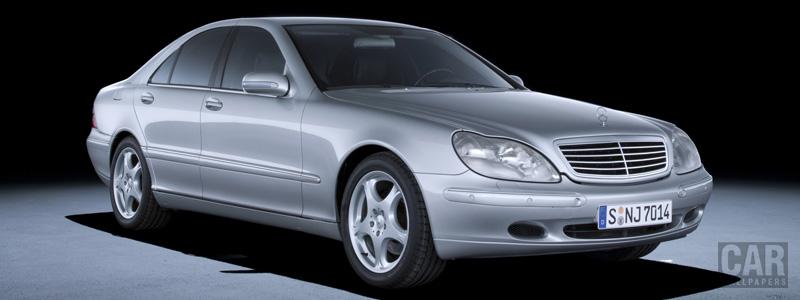 Обои автомобили Mercedes-Benz S400 CDI W220 - 1999 - Car wallpapers