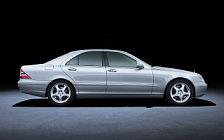 Обои автомобили Mercedes-Benz S400 CDI W220 - 1999