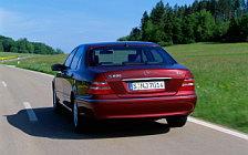 Обои автомобили Mercedes-Benz S400 L CDI W220 - 1999