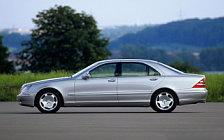 Обои автомобили Mercedes-Benz S600 W220 - 1999