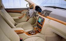 Обои автомобили Mercedes-Benz S-class Pullman w220 - 2000