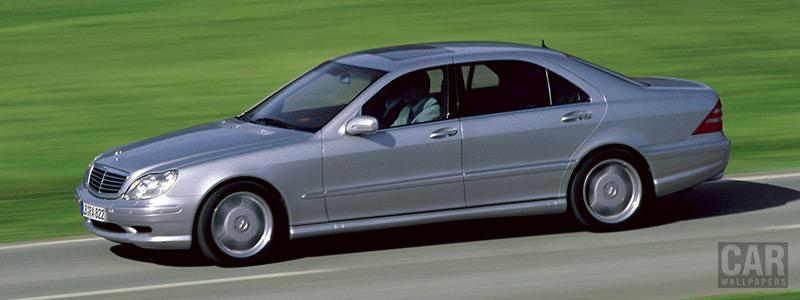 Обои автомобили Mercedes-Benz S55 AMG - 2000 - Car wallpapers