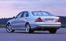 Обои автомобили Mercedes-Benz S63 AMG - 2001