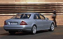 Обои автомобили Mercedes-Benz S55 AMG - 2002