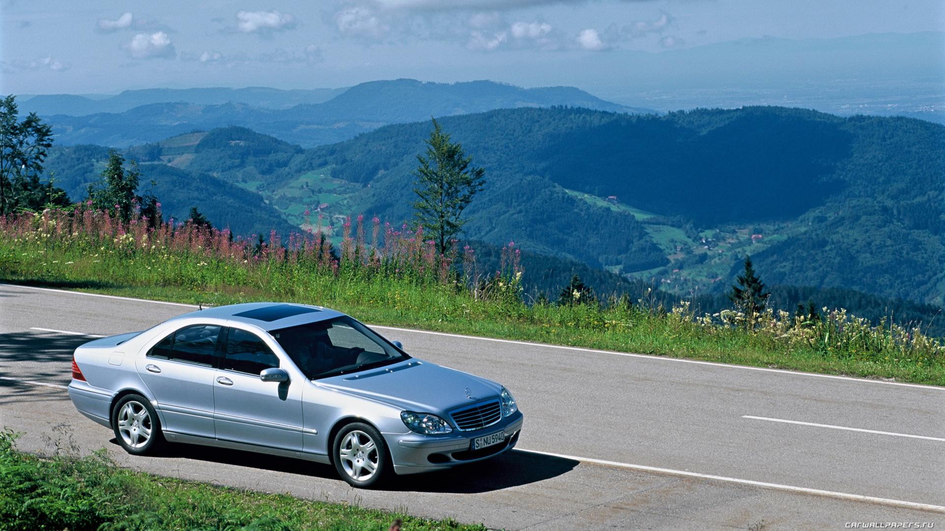 Cars desktop wallpapers Mercedes-Benz S500 4matic w220 - 2002