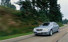 Обои автомобили Mercedes-Benz S500 4matic w220 - 2002